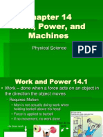 Chapter 14 - Work, Power, And Machines (1)
