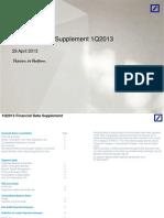 DB Q1 Supplement