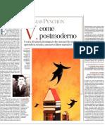 Thomas Pynchon, V. Come Postmoderno - La Stampa - 29.04.2013
