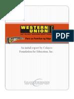 WU Report 1st Draft