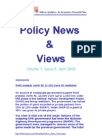 Economic Policy News and Views April 2009