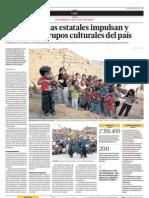 Dos programas estatales impulsan y difunden a grupos culturales del país.