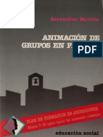 Animacion de Grupos en Proceso Movilla Secundino