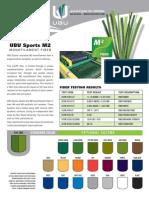 UBU Sports M2 Fiber Brochure