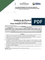 A Caderno de Provas PC DELEGADO