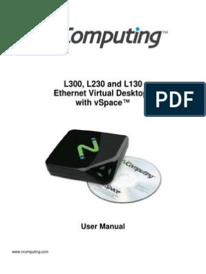 Ncomputing Manual | Remote Desktop Services | Installation