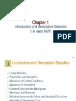 Bio-statistics Lecture 1