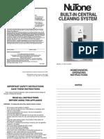 NuTone CV353 Manual