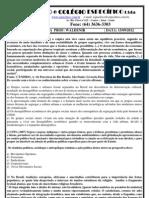 Lista de Exercicios Sociologia_semi Mat 2 e 3 Ano - Cultura e Sociologia No Brasil