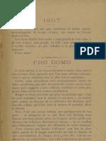 Reclams de Biarn e Gascounhe. - Yené 1907 - N°1 (11 e Anade)