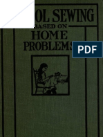 School Sewing Based on Home Problems