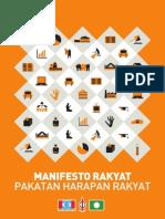 Manifesto Pakatan Rakyat PRU 13