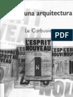 Hacia Una Arquitectura-Le Corbusier