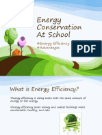 Energy Conservation at School