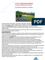 Manual Domo Solar _ 13x18 Atual Set 12