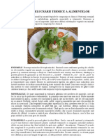 Calin Marginean - Efectele Prelucrarii Termice a Alimentelor