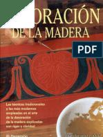 Rbfl Brico Parramon Ediciones S.a. Decoracion de La Madera Eva Pascual 2001