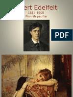 Edelfelt Albert Peintre Finnois