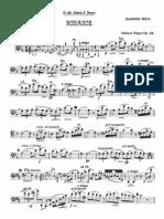 Elgar - Romance Op. 62 Trans. Bassoon and Piano