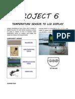 Temp Sensor Lcd Display