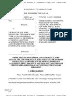 Hawaii District Court denies US Bank and JPMorgan Chase Motion for Summary Judgment Civil No. 11-00714 JMS/BMK