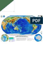 ETOPO1 Wallmap Pacific