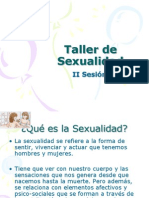 Power point, taller de sexualidad, sesión 2.