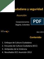 Cultura Ciudadana y Seguridad