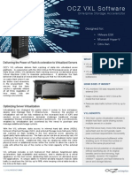 Ocz Vxl Software Product Brief