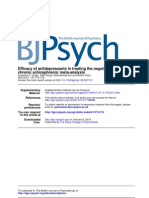 Antidepressants in Chronic Schizophrenia