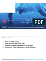 UEFA Financial Fair Play in 20 slides