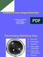 Karakteristik Kayu Sbg Bahan Baku 110307