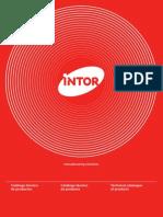 00 - Catalogo Tecnico de Productos INTOR