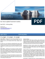 IceCap Asset Management Limited Global Markets 2013.4