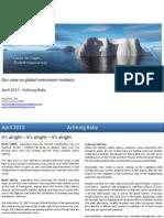 IceCap Asset Management Limited Global Markets 2013.4
