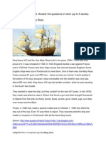 Reading-comprehension the Maryrose