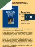 Sanskrtsko-Slovenski Slovar Akcija