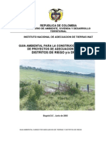 Guia Ambiental Adecuacion Tierra DISTRITOS de RIEGO
