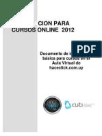 Bienvenida Cur So 2012