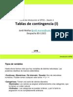 Tablas de Contingencia(II)