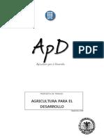 Projecte Agricultura Per Al Desenvolupament_es