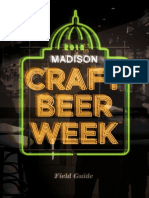 Madison Craft Beer Week 2013 Field Guide