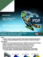 ANSYS E0 Workshop 09i