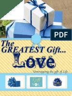 Greatest Gift Love Newsletter