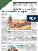 70304956 Iglesia Del Siglo XVI a Punto de Colapsar en Puno Peru