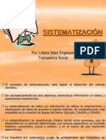6. Sistematización