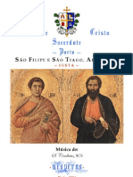 SÃO FILIPE E SÃO TIAGO, APÓSTOLOS - VÉSPERAS