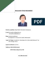 Curriculum Resumido Abr.2013