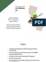 Energy Funding for California Energy Commission