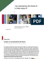 Bonini QoX en Redes de Video Sobre IP